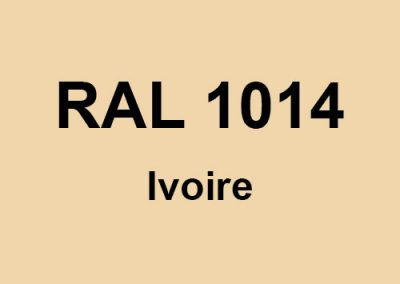 RAL 1014 - Ivoire