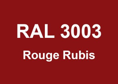 RAL 3003 - Rouge Rubis